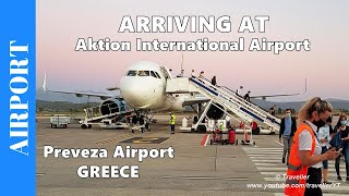 ARRIVING AT AKTION INTERNATIONAL AIRPORT - Preveza Airport in Greece - Travel During the Coronavirus