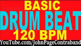 Basic Drum Loop Track 120 bpm 4/4 Half Hour Tool