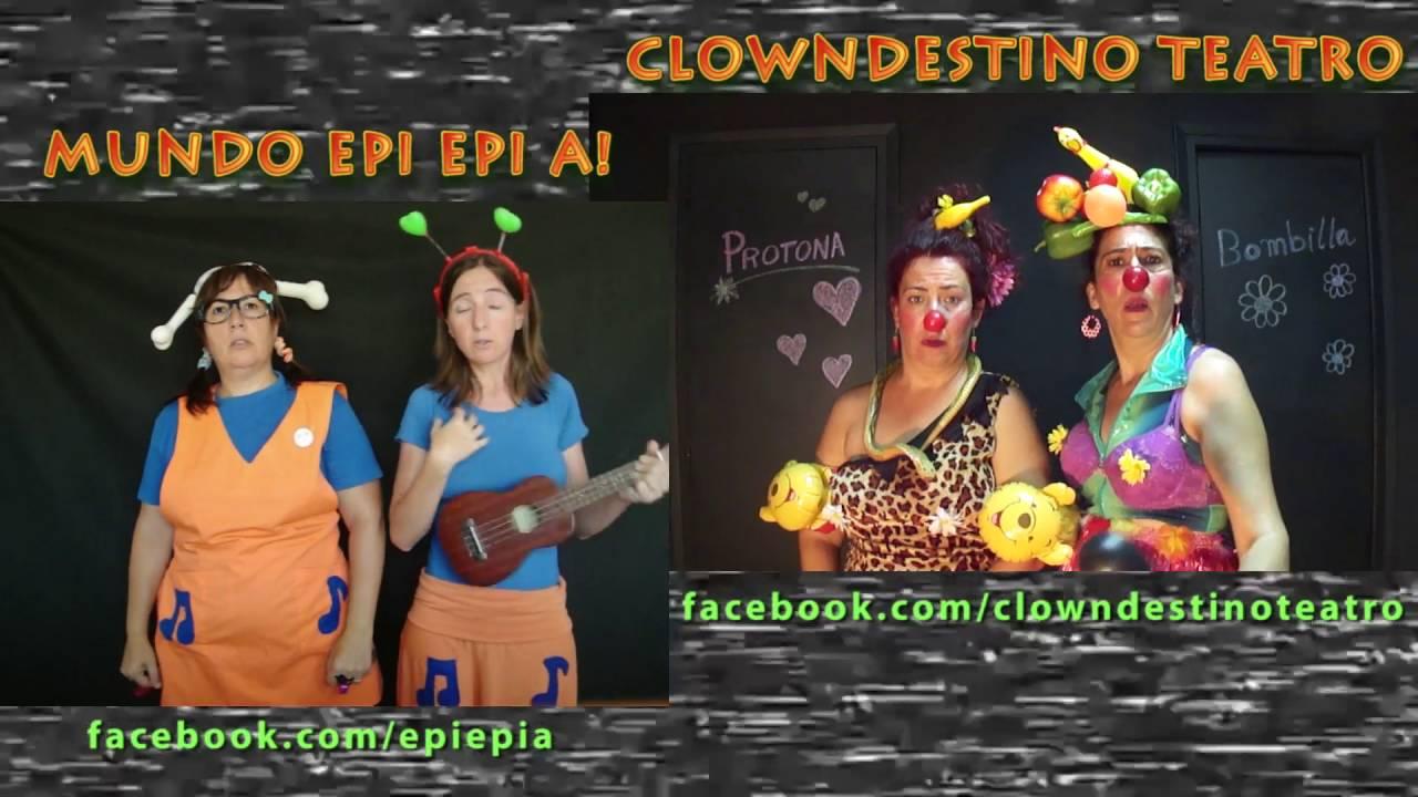 promo Epi Epi A! y Clowndestino Teatro en los parques de Alicante