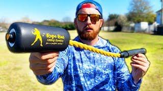 The WEIRDEST Baseball Bat EVER! IRL Baseball Challenge