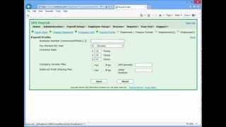 IAS Payroll - Quick Start Tutorial