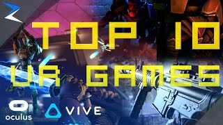TOP 10 BEST VR GAMES - 2018/2019