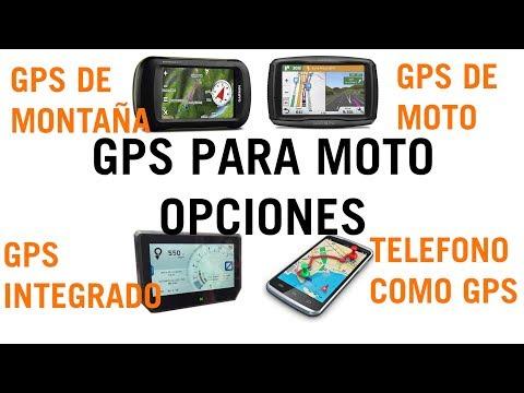 GPS PARA MOTO. Diferentes opciones.