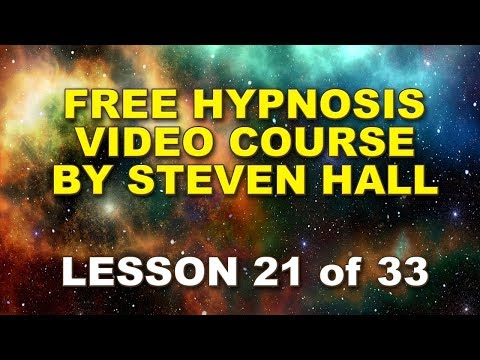 Video #21 How to Hypnotise People, Complete FREE online Hypnosis course by Steven Hall