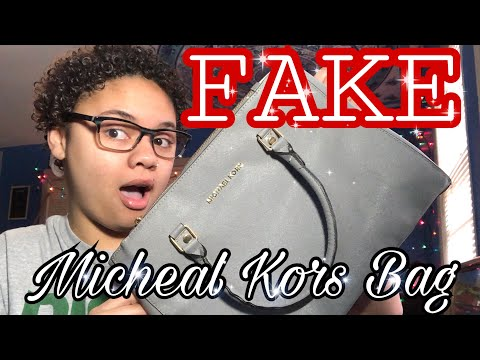 I Bought a FAKE Michael Kors Bag | iOffer Review