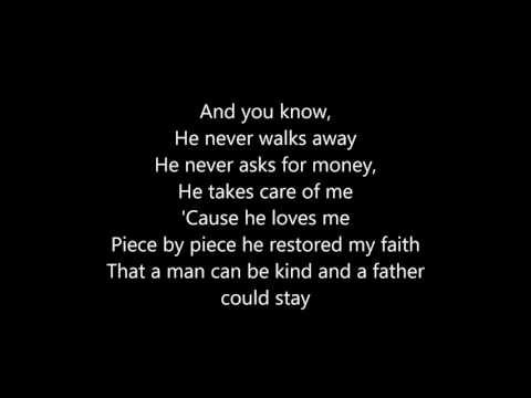 Kelly Clarkson ~ Piece by Piece Lyrics (Idol Version)