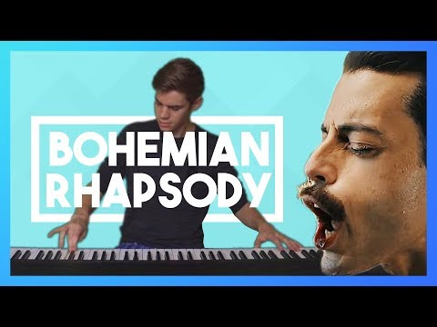 Queen - Bohemian Rhapsody (Piano Cover) feat  Lucky Piano