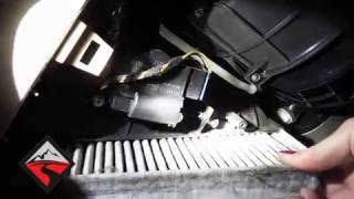 How to replace the engine air filter in a 3 2l v6 volkswagen touareg how to remove the cabin air filter 04 10 vw touareg fandeluxe Image collections