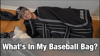Whats In My Baseball Bag?