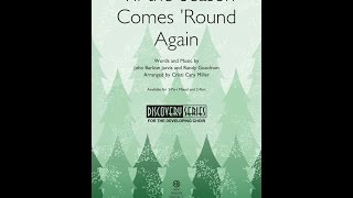 'Til the Season Comes 'Round Again (3-Part Mixed) - Arranged by Cristi Cary Miller