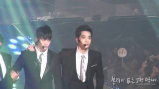 Chansung(2PM)-Thank you-(Fancam)-20110902