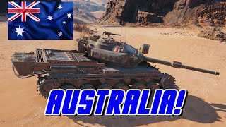 World of Tanks - Australia!