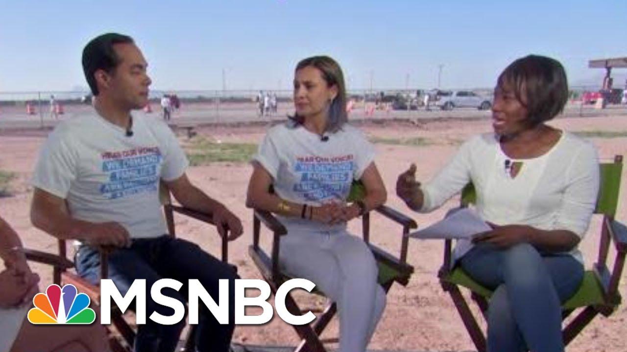 María Teresa Kumar: Immigrant Family Detention Is Still Prison   AM Joy   MSNBC thumbnail