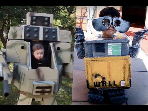 Disfraces de robot para niños.
