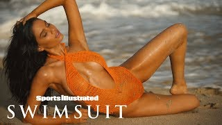 Anne de Paula is Red Hot in Nevis  INTIMATES   Sports Illustrated Swimsuit