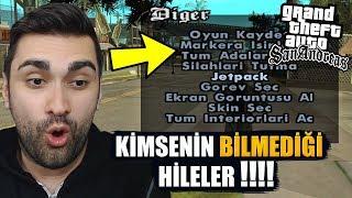 GTA SAN ANDREAS KİMSENİN BİLMEDİĞİ HİLELER !