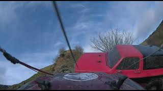 TRAXXAS TRX4 DEFENDER with DJI HD FPV rc crawling