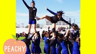 Funny Cheerleading Fails Thatll Make You Cry Laughing 😂
