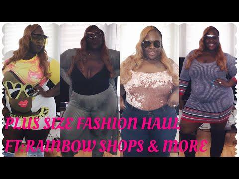 e5550b5c22 RAINBOW SHOPS   MORE PLUS SIZE FASHION HAUL - KoKo s Kouture Closet
