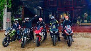 Tour Hà Nội - Mộc Châu | Đụng Độ Phải Yamaha R1- Zx10r - R6 - CBR250