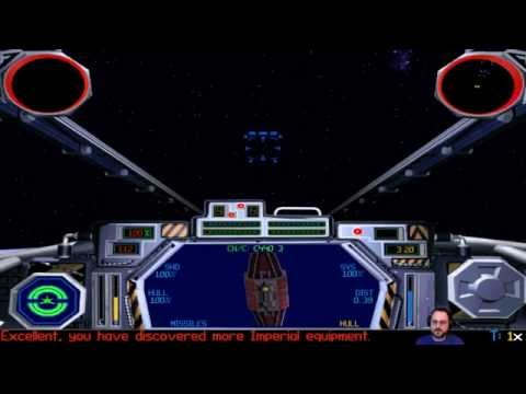 Let's Play: Star Wars: Tie Fighter [Livestream Footage]
