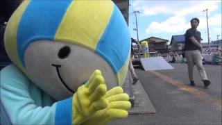 ミナモ、ふなっしーと夢のコラボレーション(!?)