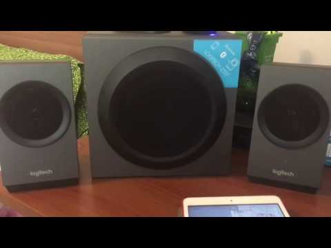 Logitech Z337 Unboxing and Sound Test – BLUETOOTH
