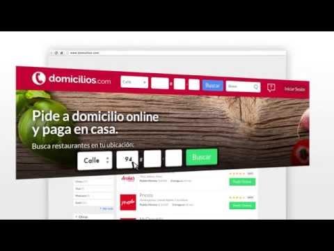 Video of Domicilios.com - Order food
