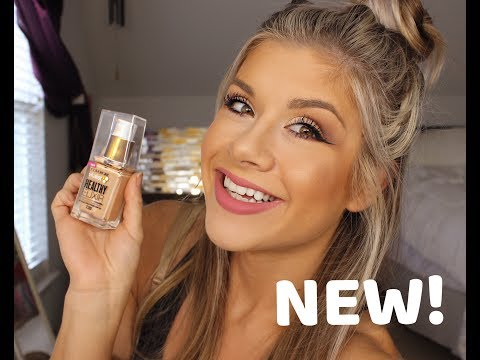 NEW CoverGirl Vitalist Healthy Elixir Foundation Review And Demo