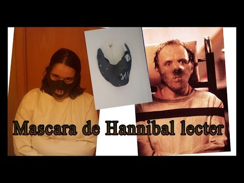 Mascara de hannibal lecter para halloween