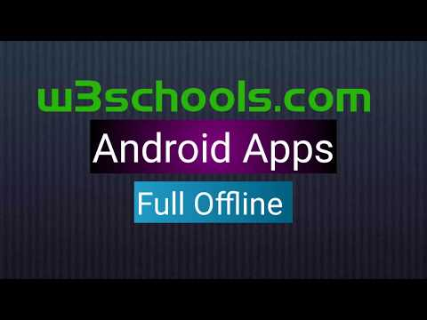 w3schools offline version full website download apk file