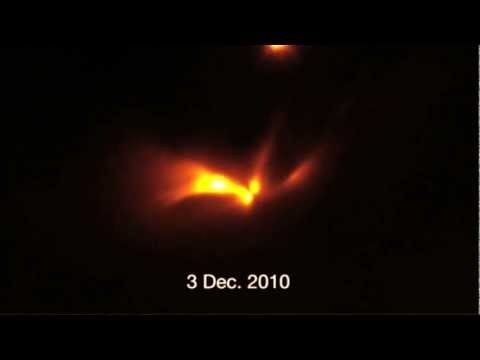 Binary Protostars Revealed as the Source of a Mysterious, Periodic Flash of Light – Gallery