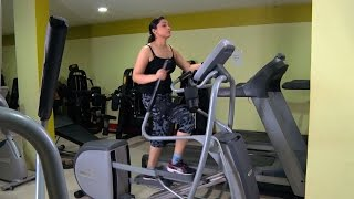Cardio Exercises using Cross Trainer | Women's Fitness