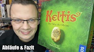 """Keltis - Der Weg der Steine (Kosmos) - ab 10 Jahre - """"Altes"""" Spiel aber immer noch gut?"""