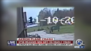 LOF: Surveillance video of plane crash in Akron released by police