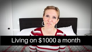 HOW TO LIVE ON $1000 A MONTH | EXTREME FRUGALITY TO SAVE FOR A HOUSE