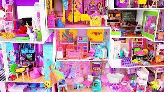 8 DIY Miniature Cardboard  Doll Houses