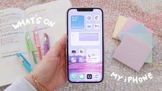 productivity: organize your phone to work for you, not against you ☎️ what's on my iphone 2021