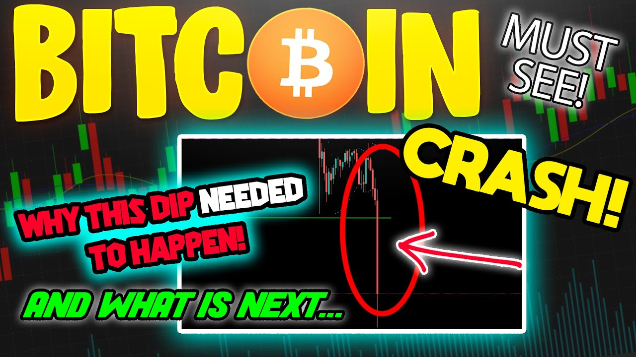 BITCOIN CRASHES & THIS IS WHY YOU SHOULD NOT WORRY #Bitcoin #BTC