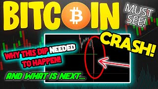 BITCOIN CRASHES & THIS IS WHY YOU SHOULD NOT WORRY