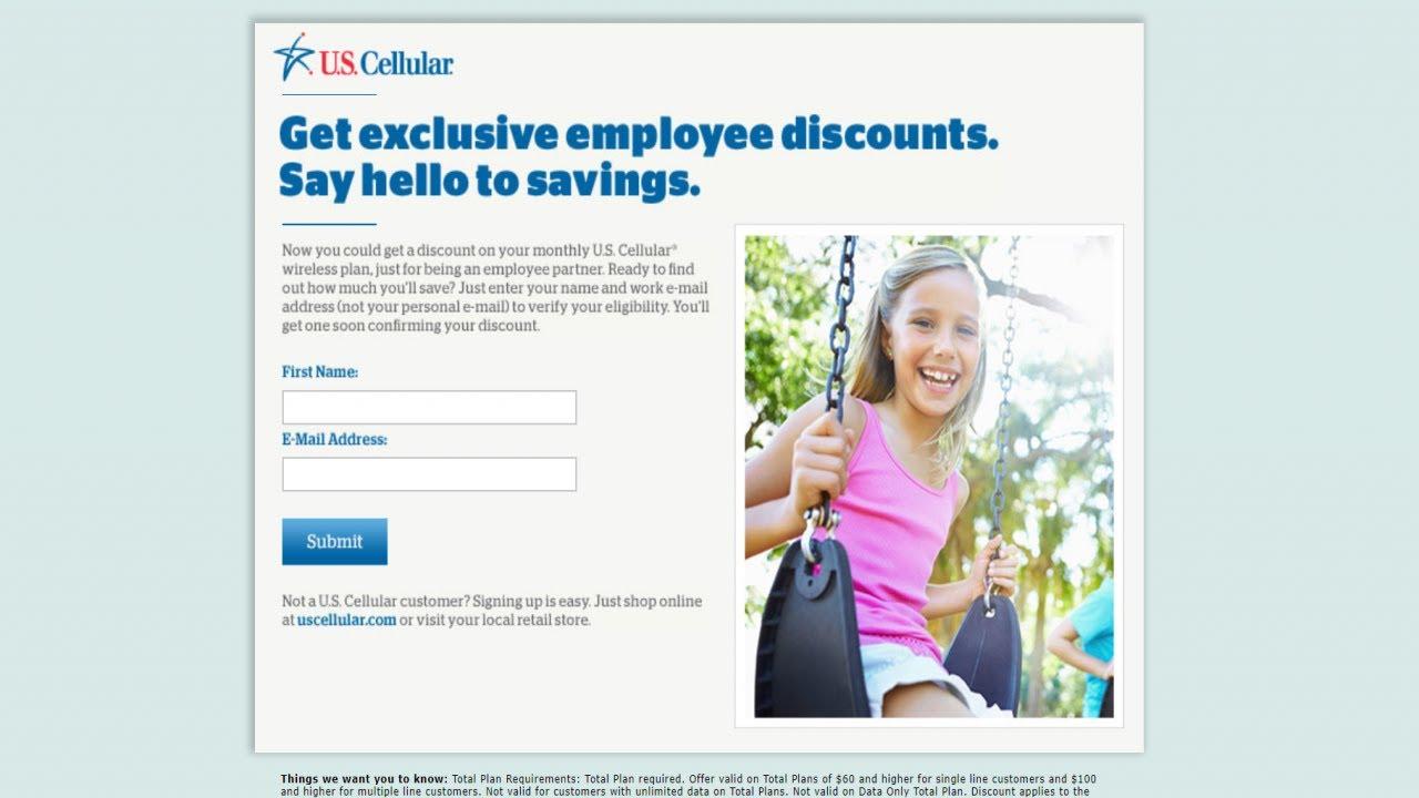 Us cellular partner employee discount program
