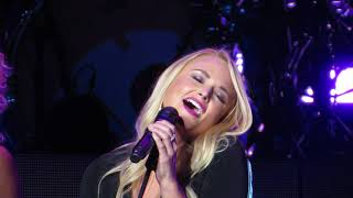 Miranda Lambert singing Girl Crush with Little Big Town in concert 7/21/18 at Xfinity Center MA