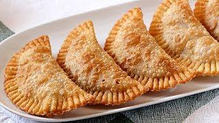 Masa de empanadillas para freír auténtica - Solo 3 ingredientes