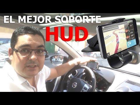 Mejor soporte de teléfono móvil para el coche. Mejor que un HUD - Mate2GO PRO-H1 2018