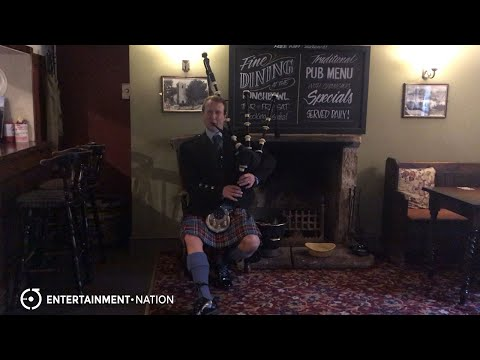 Caledonian Bagpipes - Live Bagpiper For Hire