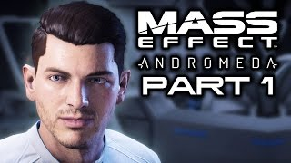 MASS EFFECT ANDROMEDA: Waking Up in a New Galaxy! (Let's Play Stream Part 1)