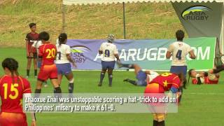 🎥HIGHLIGHTS: China take step closer to Women's RWC