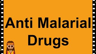 Pharmacology- Anti Malarial Drugs MADE EASY!