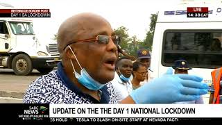 Hundreds of Zimbabwean nationals have been stuck at the Beitbridge border gate since 10 Thursday night. They were traveling back home ahead of the 21-day national lockdown which came into effect at midnight. Mike Maringa has the latest.   For more news, visit sabcnews.com and also #SABCNews on Social Media.