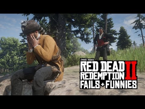 Red Dead Redemption 2 - Fails & Funnies #66